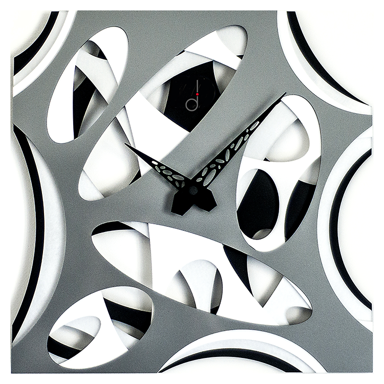black and white Wallclocks